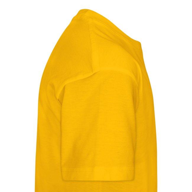 got fufu - Girls's Tee - Yellow / White