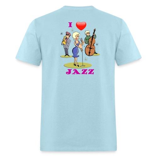 I Love Jazz - Men's T-Shirt