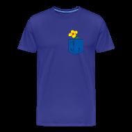 T-Shirts ~ Men's Premium T-Shirt ~ Kiss of spring- blue