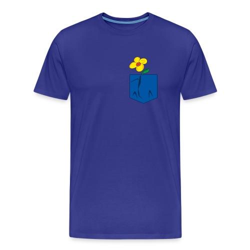 Kiss of spring- blue - Men's Premium T-Shirt