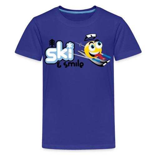 Ski & Smile - Kids' Premium T-Shirt
