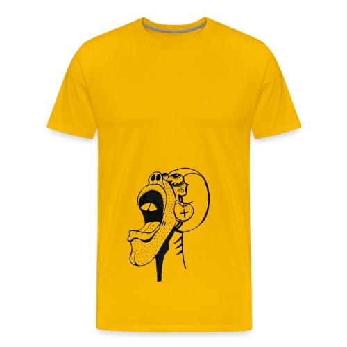 amazed - Men's Premium T-Shirt