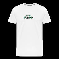 T-Shirts ~ Men's Premium T-Shirt ~ Old school on white