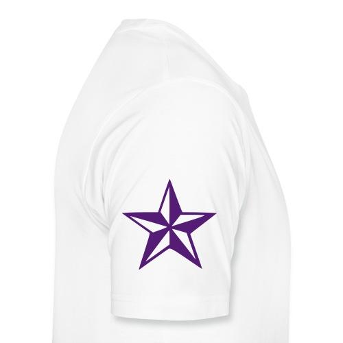 StarHaze (Purple/White) - Men's Premium T-Shirt