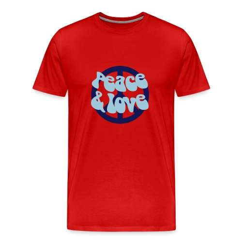 Peace Love - Men's Premium T-Shirt