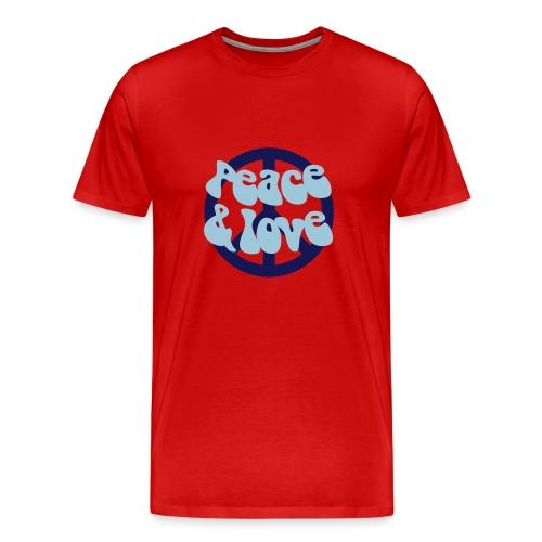 Peace Love - Men's Premium T-Shirt