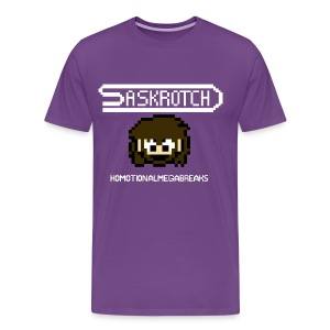 Saskrotch Homotional Mega Breaks - Men's Premium T-Shirt