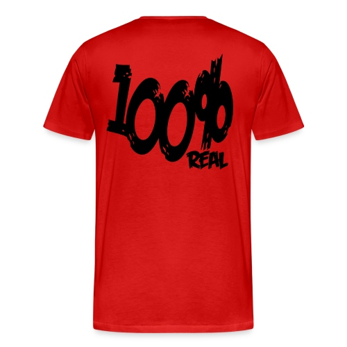 100%_real A.$. shirt - Men's Premium T-Shirt