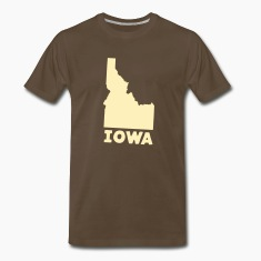 Where Ya From? Iowa? Men's Tee