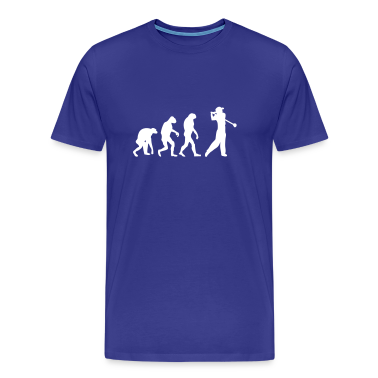 Royal blue golf golfer T-Shirts