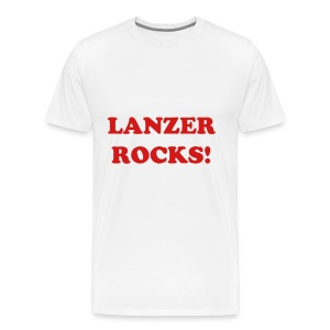 LANZER ROCKS!! Men's - Men's Premium T-Shirt