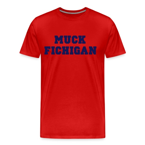 F Michigan - Men's Premium T-Shirt