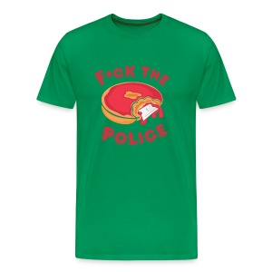 Fuck The Police Tee - Men's Premium T-Shirt