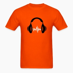 Orange music T-Shirts