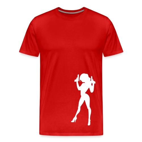 Caught- red - Men's Premium T-Shirt