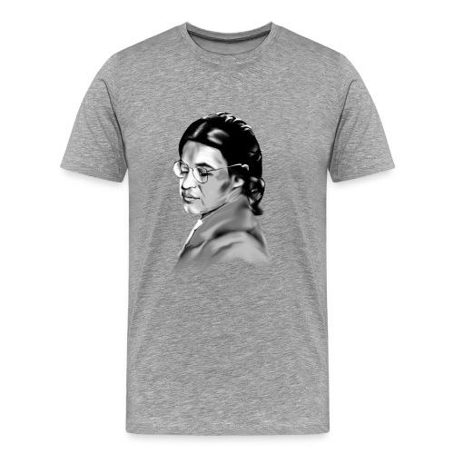 Rosa Parks_Plain_Portrait In Courage - Men's Premium T-Shirt