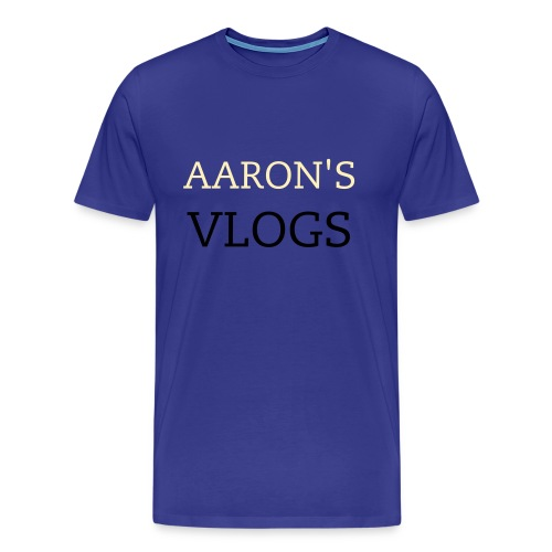 AARON'S VLOGS 2 - Men's Premium T-Shirt