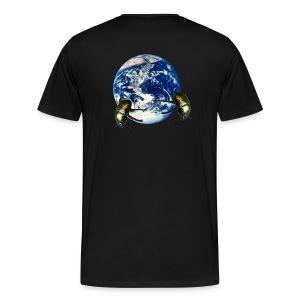 dungbeetle earth - Men's Premium T-Shirt