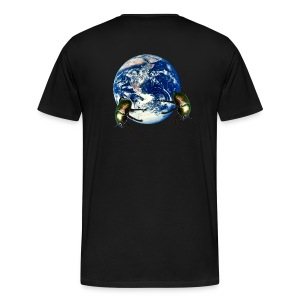 dungbeetle earth - Men's Premium T-Shirt