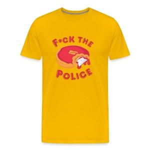 Fuck the Police T - Men's Premium T-Shirt