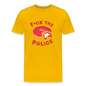 Fuck the Police T - Men's Premium T-Shirt