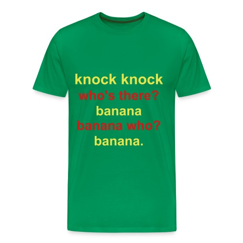 Knock Knock - Men's Premium T-Shirt