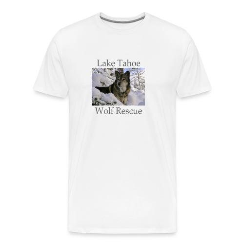 LTWR Logo with Dark text - Men's Premium T-Shirt