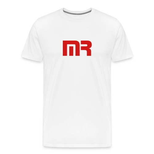MR. white-logo tee Men's - Men's Premium T-Shirt
