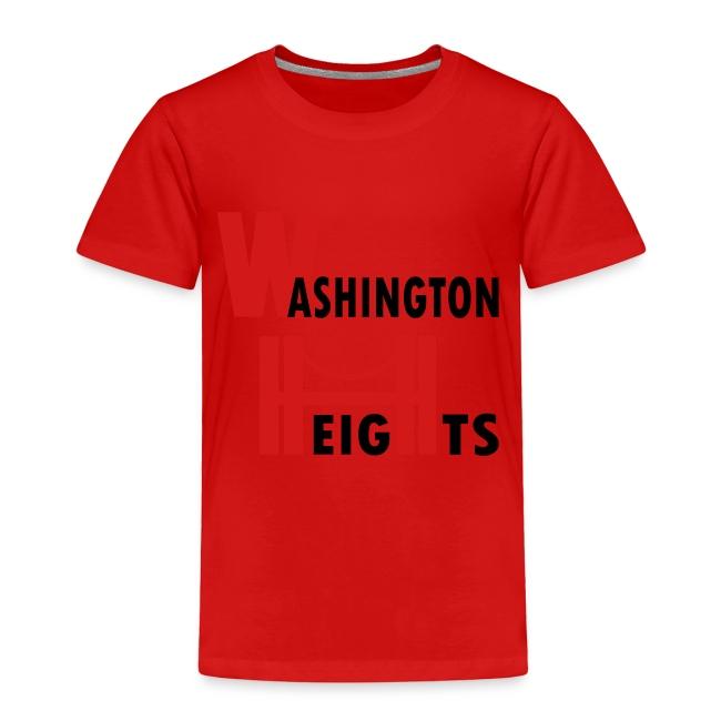 KKT 'Washington Heights With Bridge' Toddler Tee, White
