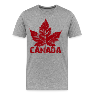 Men's Canada T-shirt Canadian Souvenir Shirts Sm - 5xl - Men's Premium T-Shirt