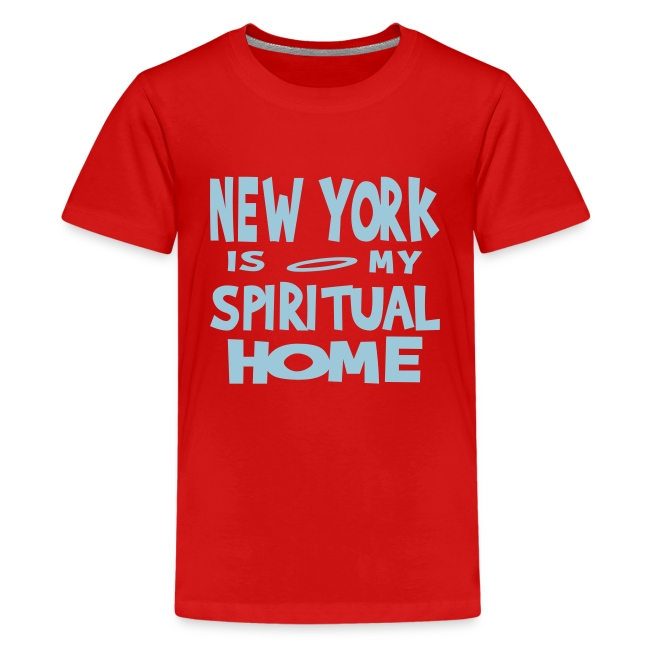 KKT 'New York, Spiritual Home' Kids' Tee, Azalea