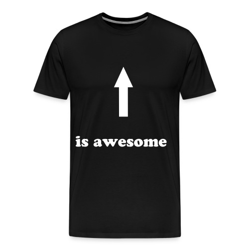 male awesome - Men's Premium T-Shirt