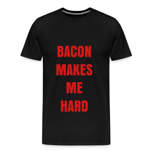 MMMM Bacon! Black - Men's Premium T-Shirt