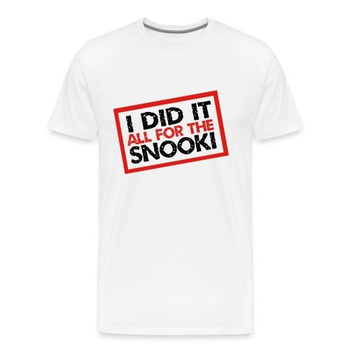 snooki - Men's Premium T-Shirt
