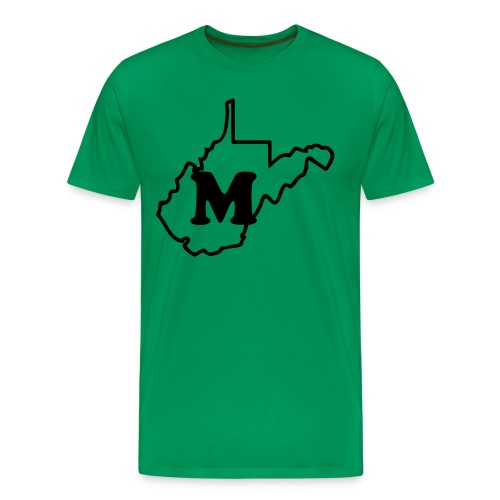 M in WV State - Men's Premium T-Shirt