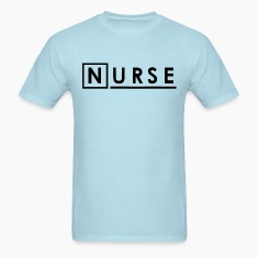 Sky blue House Nurse T-Shirts