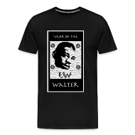 T-Shirts ~ Men's Premium T-Shirt ~ Year of the Walter 3XL t-shirt (black)