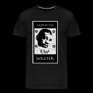 T-Shirts ~ Men's Premium T-Shirt ~ Year of the Walter 3XL t-shirt (black)