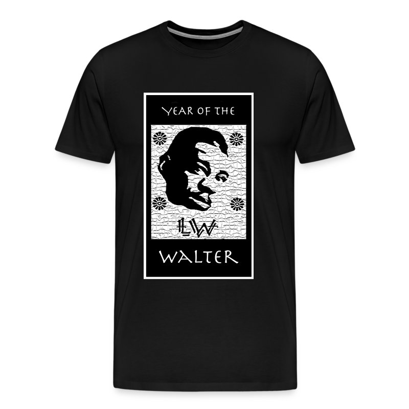 Year of the Walter 3XL t-shirt (black) - Men's Premium T-Shirt