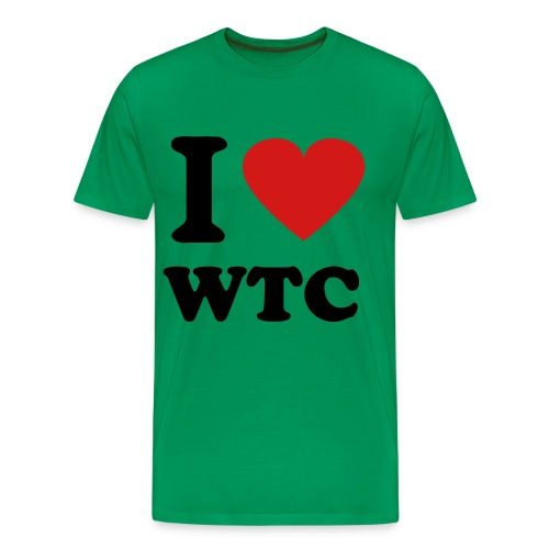 I Heart WTC - Men's Premium T-Shirt