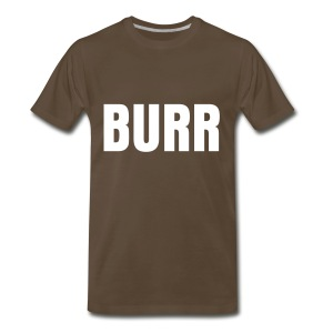 BURR PRINT - Men's Premium T-Shirt