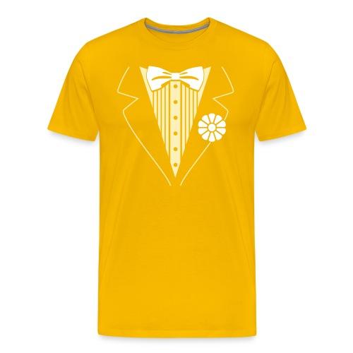 Creamsicle Tux - Men's Premium T-Shirt