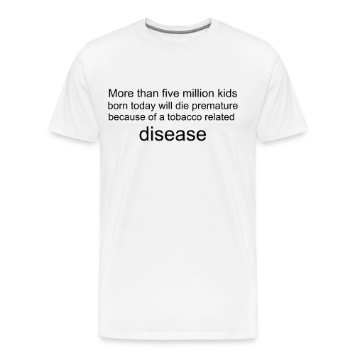 Five Million Deaths - Men's Premium T-Shirt