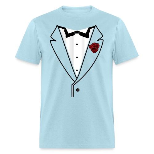 Custom Classic - Black Lined Stylings - Men's T-Shirt
