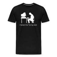 T-Shirts ~ Men's Premium T-Shirt ~ Turing test Tee 3XL (on Dark Choice)