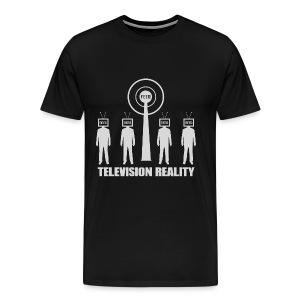 Television Reality - Men's Premium T-Shirt