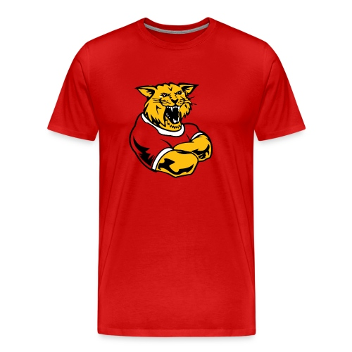 Wildcats Custom Team Mascot - Men's Premium T-Shirt
