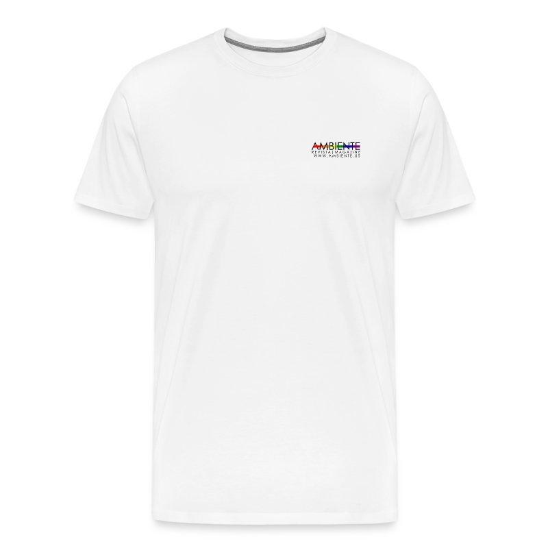 ambientelogorainbow2 - Men's Premium T-Shirt