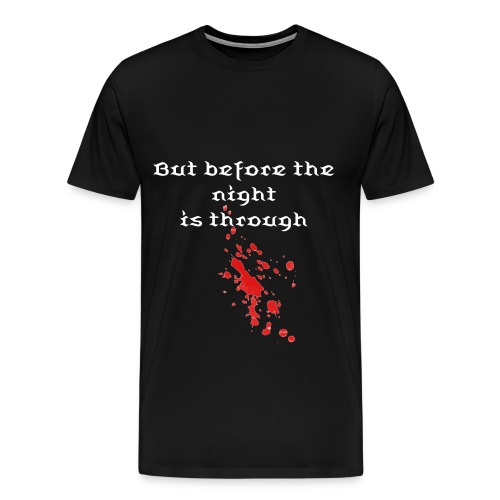 True Blood Theme Men's Heavyweight t-shirt - Men's Premium T-Shirt