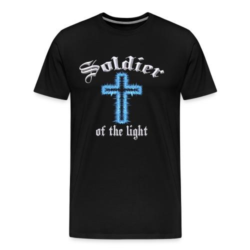 Soldier of the Light - Men's Premium T-Shirt